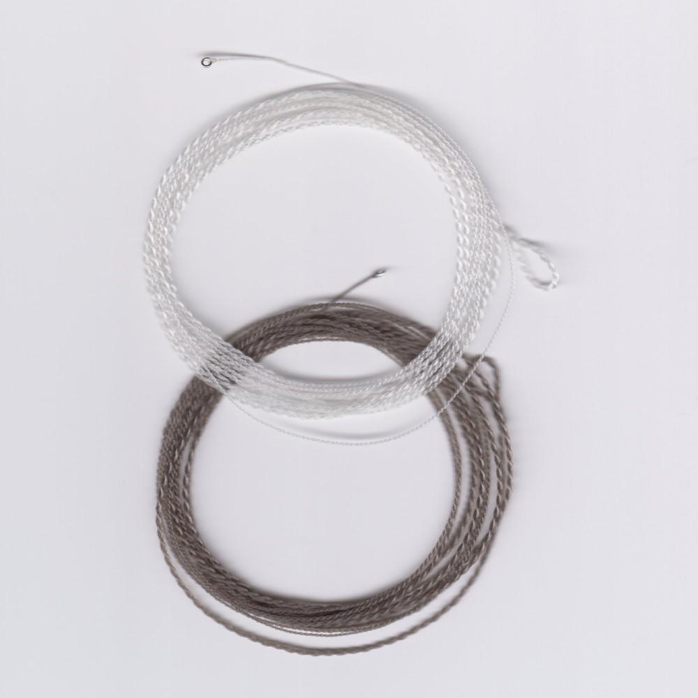 EVL MEDIUM Floating Furled Tapered Leaders with Tippet Rings